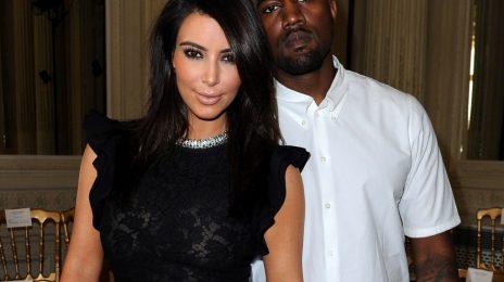 Report:  Kanye West & Kim Kardashian's Baby Name Revealed