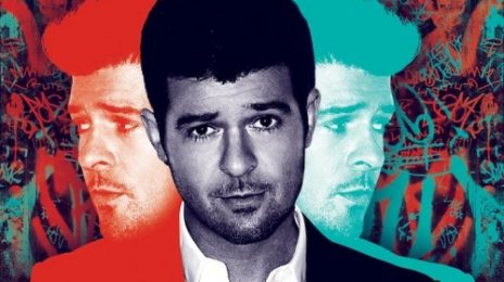 Robin Thicke Unwraps 'Blurred Lines' Album Cover & Tracklist