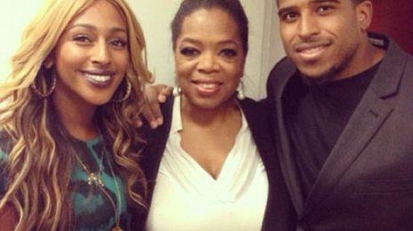Hot Shots: Alexandra Burke Meets Oprah Winfrey
