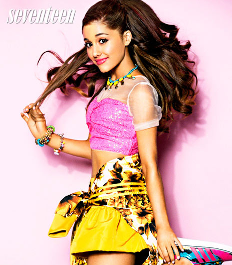 ariana grande seventeen magazine that grape juice Ariana Grande Praises Beyonce And Speaks Out On Bullies In Seventeen