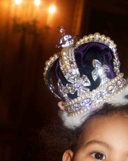 beyonce blue ivy that grape juice Hot Shots: Beyonce Shares Fresh Snaps Of Baby Blue
