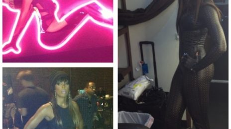 Hot Shot: Kelly Rowland On Set Of Fantasia's 'Without Me' Video