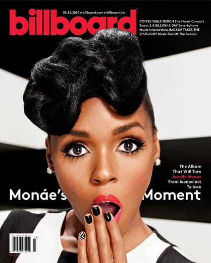 janelle monae billboard Janelle Monae Covers Billboard Magazine For The Electric Lady / Confirms Prince Duet