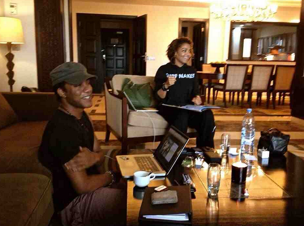 janet jackson that grape juice Hot Shot: Janet Jackson Begins Work On New Album?