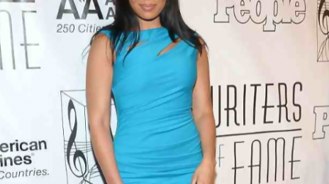 Hot Shots: Jordin Sparks Parties At The Songwriters Hall Of Fame Awards