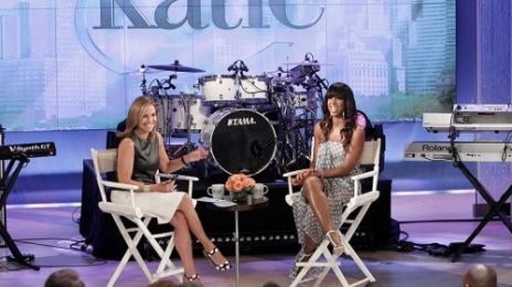 Watch: Kelly Rowland Performs On 'Katie Couric'