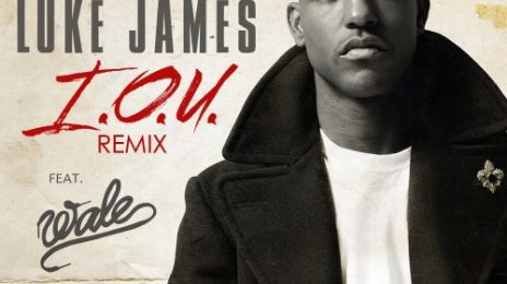 New Song: Luke James - 'IOU (Remix) (ft. Wale)'