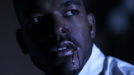 Hot Shot: Luke James Bloodied & Bruised...