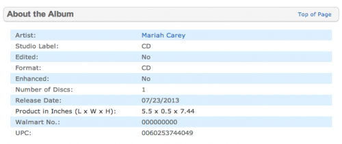 mariah carey art letting go 2 e1371464464106 Mariah Careys New Album Title Revealed?