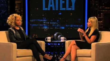 Watch:  Eve Visits Chelsea Lately