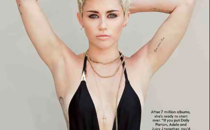 Hot Shot: Miley Cyrus Covers 'Billboard' For 'Miley 2.0' Spread