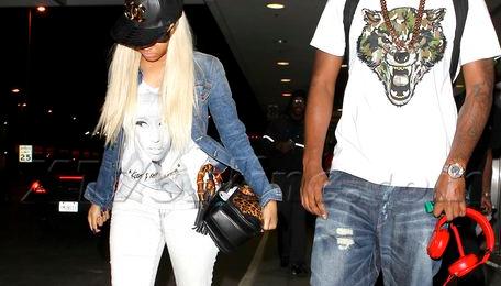 Hot Shot: Nicki Minaj Arrives In LA Ahead Of BET Awards