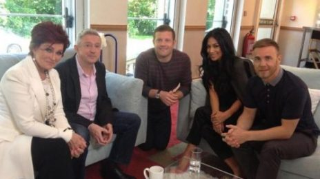 Hot Shot: Nicole Scherzinger Poses With New 'X Factor UK' Judging Line-Up