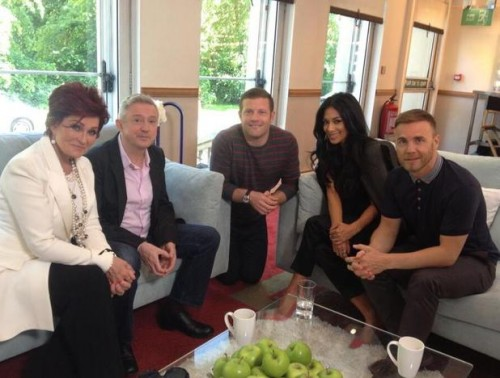 Hot Shot: Nicole Scherzinger Poses With New X Factor UK Judging Line Up
