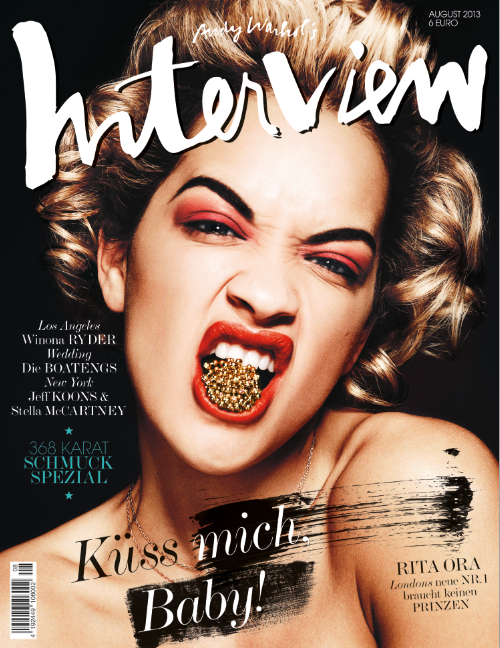 rita ora interview magazine Hot Shot: Rita Ora Rocks Interview Magazine