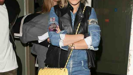 Hot Shots: Rita Ora & Cara Delevingne Step Out Ahead Of 'Sound of Change' Concert