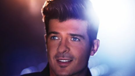 Watch: Robin Thicke Performs 'Blurred Lines' On Graham Norton