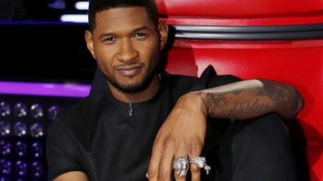 Watch: Usher Performs 'Twisted' On 'The Voice'