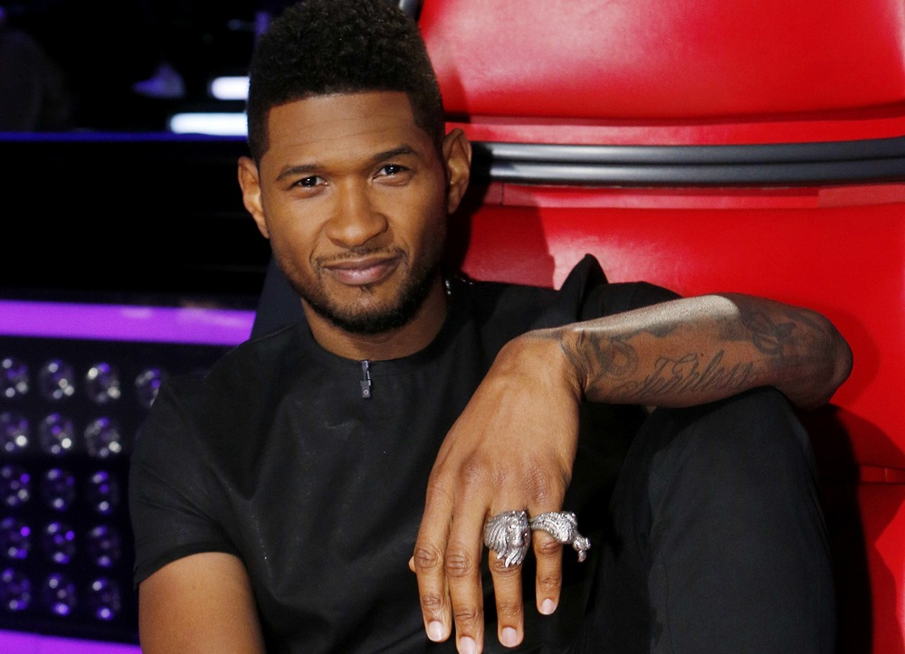 Usher 2013 The Voice Watch: Usher Performs ...