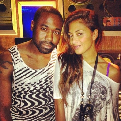 Nicole scherzinger studio e1375122017285 Hot Shots: Nicole Scherzinger Hits Studio For US Album