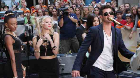 Watch: Robin Thicke Takes 'Blurred Lines' & More To 'The Today Show'