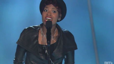 Watch:  Fantasia Tributes Whitney Houston With Fiery 'Sunday Best' Performance