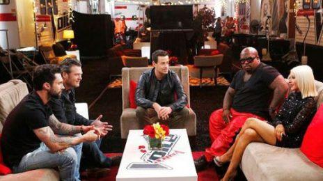Hot Shot: Christina Aguilera Returns To 'The Voice'