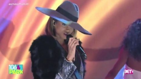 Watch: Ciara Performs 'Keep On Lookin' On 106 & Park