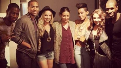 Hot Shot: Danity Kane Hit The Recording Studio