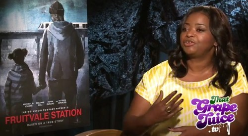 fruitvale thatgrapejuice e1373904177513 Exclusive: Octavia Spencer Talks Fruitvale Station With That Grape Juice
