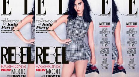 Hot Shot: Katy Perry Covers 'Elle UK'