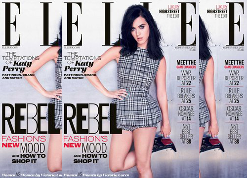 katy perry elle uk Hot Shot: Katy Perry Covers Elle UK