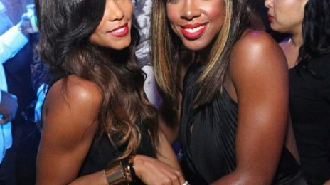 Hot Shot: Kelly Rowland & LeToya Luckett Catch Up In Atlanta