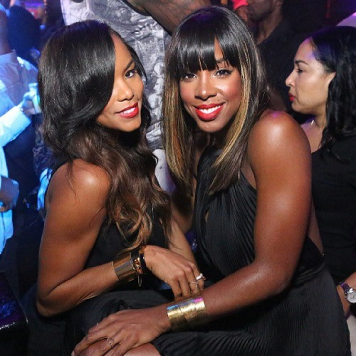 kelly rowland letoya e1374973927768 Hot Shot: Kelly Rowland & LeToya Luckett Catch Up In Atlanta