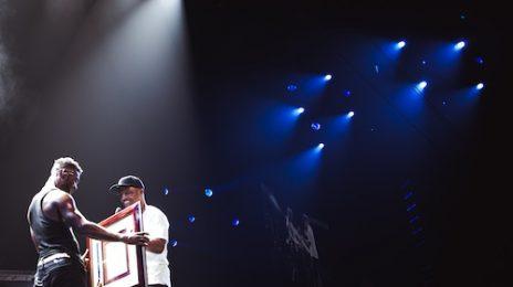 Hot Shots: Luke James Receives Grammy Awards Honor At 'Mrs. Carter Show'