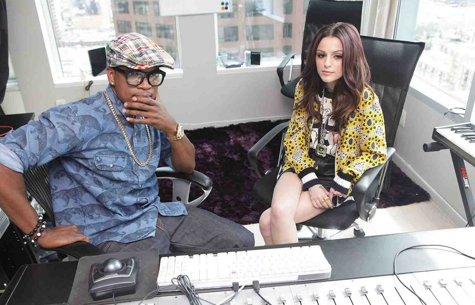 neyo cher lloyd fruttare that grape juice Behind The Scenes: Ne Yo & Cher Lloyd   Its All Good (Fruttare Theme)