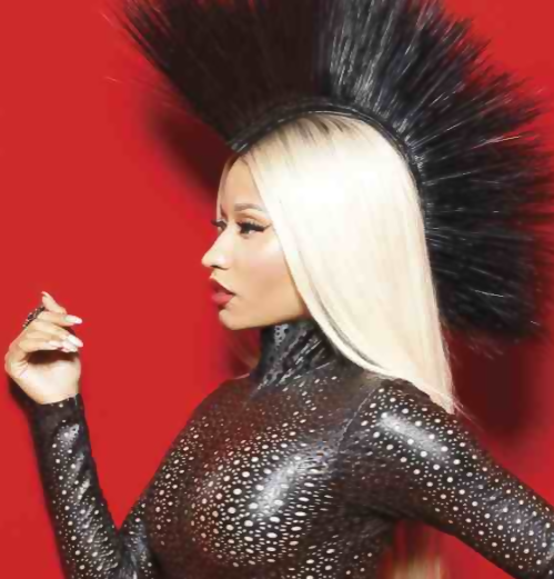 nicki minaj marie claire that grape juice1 New Video: Busta Rhymes   Twerk It (Ft Nicki Minaj)