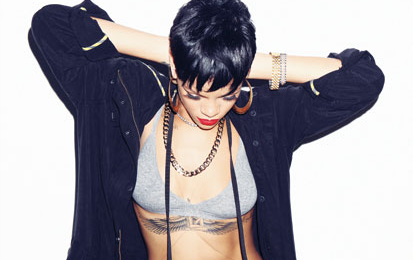 Rihanna's 'Pour It Up' Slides Nearer To Double Platinum