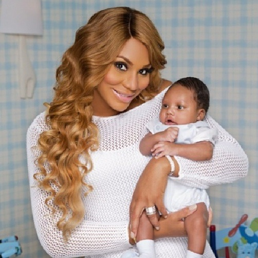 Hot Shot: Tamar Braxton Unveils Son Logan Herbert - That ...