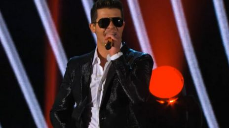 Robin Thicke Set For First #1 Album, Rocks 'America's Got Talent'