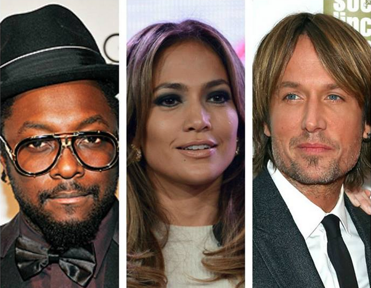 AMERICAN IDOL SEASON 13 THAT GRAPE JUICE Report: Will.I.Am Joins American Idol Panel....Alongside Keith Urban and Jennifer Lopez