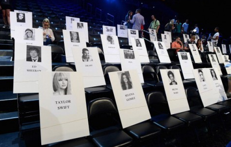 Screen Shot 2013 08 22 at 22.18.07 MTV Release VMA 2013 Seating Plan / Lady GaGa Seated Next To Katy Perry