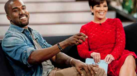 Must See: Kanye West Guest Stars On Kris Jenner Show / Opens Up On Family Life And Love For Kim Kardashian