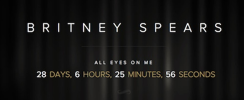 britney all eyes on me thatgrapejuice Britney Spears Launches Comeback Countdown