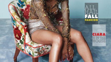Ciara Stuns In Paper Magazine