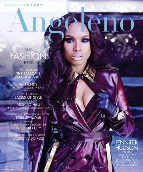 Jennifer Hudson Stuns In Angeleno / Dishes On New Album