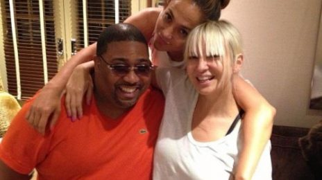 Hot Shot: Jennifer Lopez Hits Studio With 'Diamonds' Songwriter