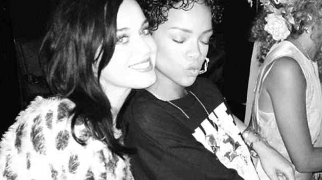 Reunited: Rihanna Joins Katy Perry At 'Prism' Pre-Release Party