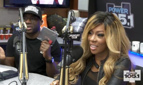 kmichelle breakfast club 2013 e1376502309229 K. Michelle Visits The Breakfast Club / Talks New LP, Industry Politics, Love & Hip Hop & More