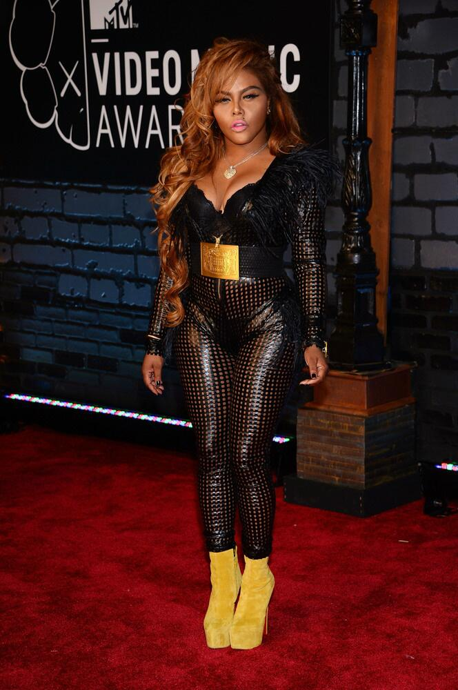 lilkim 2013 MTV VMAs: Red Carpet Arrivals